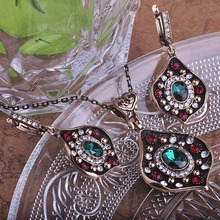 Unique Design Bijuteria Vintage Jewelry Set Parure Bijou Woman Gift Casamento Conjuntos 2015 Turkish Cheap Costume Jewellery Diy