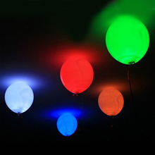 20 PCS Luminous Thicker Balloon LED Latex Hydrogen Helium Balloon Wedding Birthday Party Halloween Balloon LED Ball 12 Inch