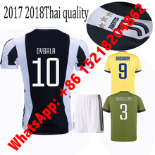2017 HOT SALES 2018 BEST QUALITY ADULT JUVENTUSES SOCCER JERSEY 17 18 HOME AWAY BLUE 3RD WHITE 17/18 MEN SHIRT FREE SHIPPING(China)
