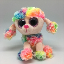 Ty Beanie Boos Original Big Eyes Plush Animal Poodle Toys best gifts for baby Toys