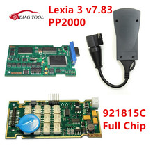 v7.83 PP2000 Lexia 3 with 921815C Full Chip Lexia3 V48 PP2000 V25 For Citroen for Peugeot Diagbox 7.83 FULL CHIP Diagnostic Tool