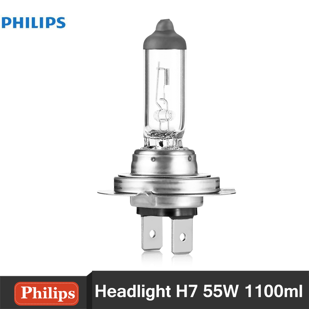 Philips H7 12972PRC1 55W 1100ML Standard Car Headlights Auto Front Bulb Automobiles Headlamp Haloge Car foglight Light Bulbs(China (Mainland))
