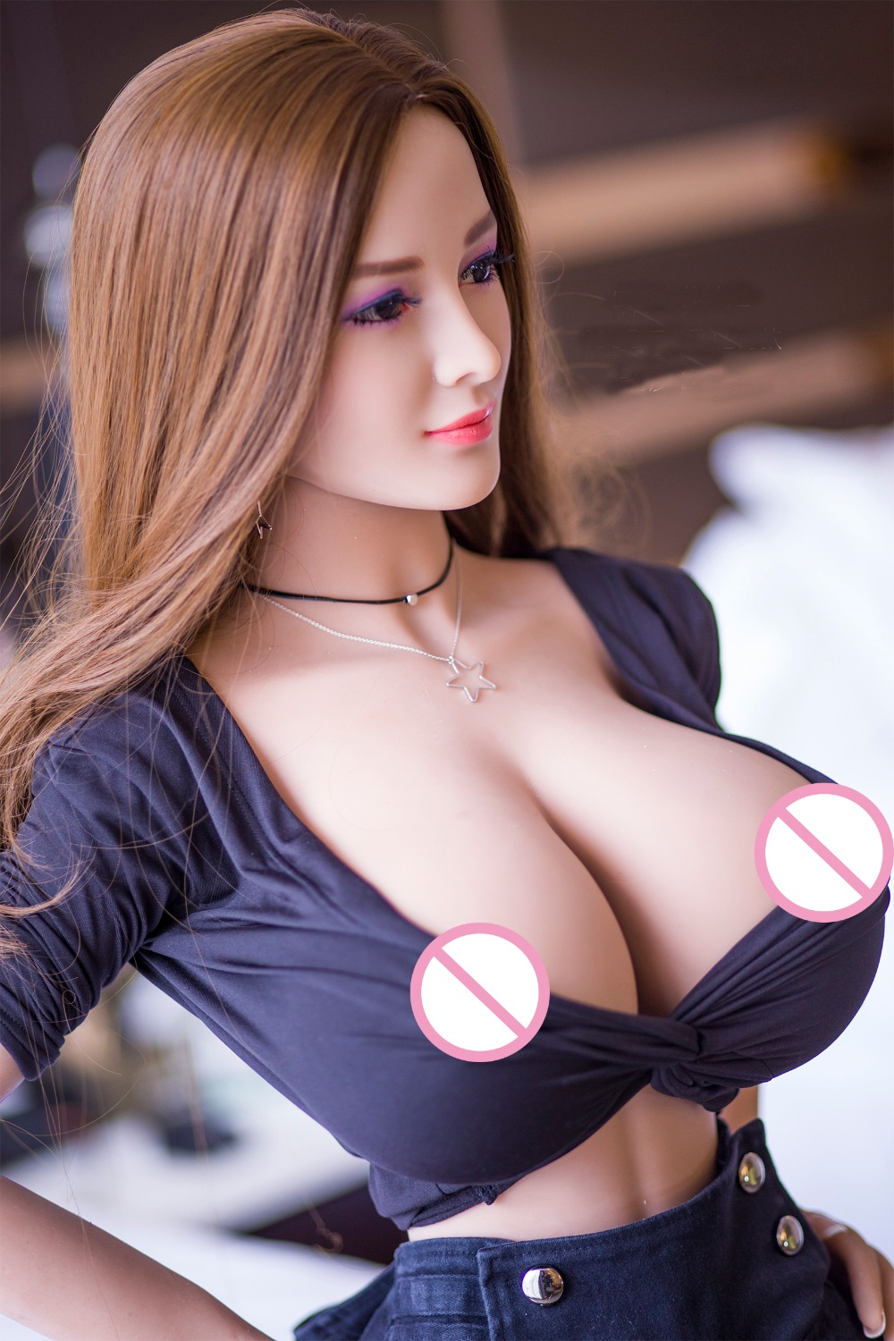 17 New 153cm Top Quality Tan Skin Japanese Real Doll, Full Size Silicone Sex Doll Love Doll, Oral Vagina Pussy Anal Adult Doll 1