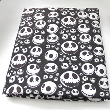 42198 50*147cm The Nightmare Before Christmas halloween fabric patchwork printed cotton fabric  home textile
