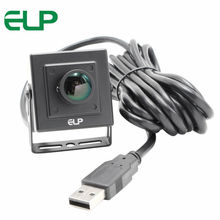 5.0Megapixel 2592x1944 Metal Case usb2.0 camera 170 degree fisheye lens Aptina MI5100 UVC Windows PC Web usb security camera(China)