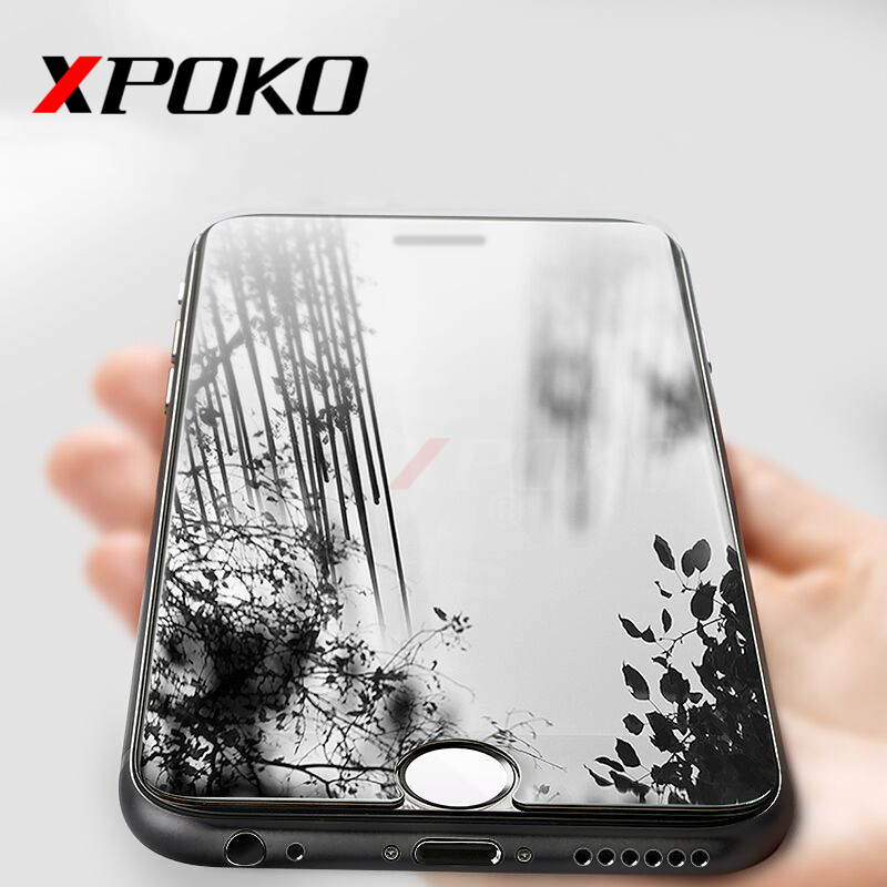 XPOKO 9H Premium Protective Tempered Glass iphone 8 7 6 6s Plus Screen Protector iphone 8 Plus 7 6s Tempered Glass Film