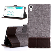 Buy Vintage PU Leather Canvas Case Sony Xperia XA Ultra Flip Magnetic Wallet Stand Cover Phone Bag Cases Sony Xperia XA for $4.49 in AliExpress store