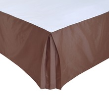 "Hotel Bed Skirt Bed Cover Two Uses Thick Poly/Cotton Canvas Bed Skirt for King/Queen Size Bed With 14"" Drop Hotel Line"