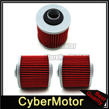 3x Oil Filter For Yamaha TRX850 SR250 SZR660 XV535 FZR250 SRX600 SR250 XC200
