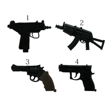 USB Key Machine Gun USB Stick PenDrive AK47 Gun USB Flash Drive 4G 8GB 16GB 32GB Pen Driver Thumb Flash Card Pistol Gift(China)