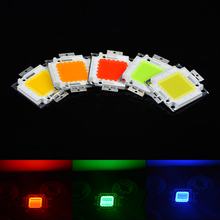 1Pcs Full Watt 100W High Power Integrated Chip Bulb LED lamp SMD For DIY Floodlight Grow light White/Red/Green/Blue/Yellow