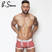 Buy Hot Sell Cheap New Mr Fashion Brand Male Sexy Cotton Boxer Shorts Striped Fashion Underwear Man Underwear 1203