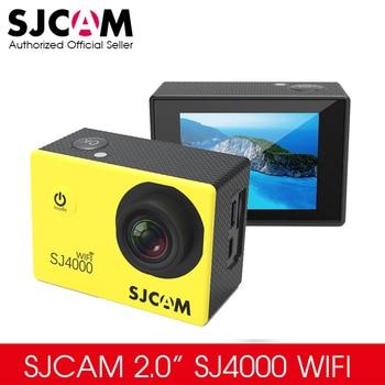 Mise à niveau 2.0 Pouce SJCAM SJ4000 Origine WIFI Action Camera Plongée 30 M Étanche Caméra Sous-Marine 1080 P Sport Caméra