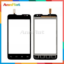 "High Quality 4.3"" For LG L65 D285 Dual Sim Card Touch Screen Digitizer Front Glass Lens Sensor Panel Free Shipping"