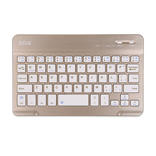 "Wireless Bluetooth 7.9"" Keyboard Mini Universal Thin Ultra Slim Multimedia  for IOS Android Phone Apple Ipad Tablet PC"