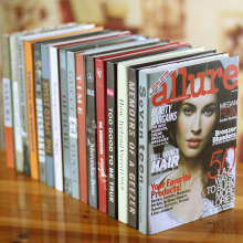10pc Simple modern home  fashion magazine series simulation    props  Fake  BH-22 books Book decoration wall dies wedding