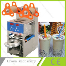 Full stainless steel automatic plastic cup sealer