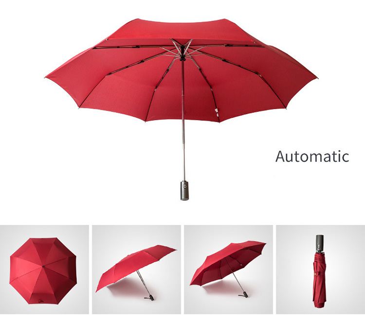 High Quality Brand Large Folding Umbrella Men Rain Woman Double Golf Business Gift Umbrella Automatic Windproof Umbrellas 11