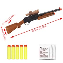 New Infrared Sniper Rifle Plastic Toy Paintball Toys CS Game Shooting For Children Set Gift