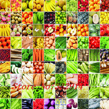 Hot Sale 100pcs Fennel;Cucumber;Colorful Radish; kohlrabi;Tomato;Sweet pepper;Redpepper; Fruit radish; Sausage radish 9 kinds of