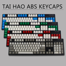 Green Tank red alert mechanical keyboard cherry mx switch 104 keycaps Taihao Dolch double shot light Granite keycap OEM