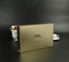printed packaging box Customized luxury leather perfume packaging box UV Resistant biscuits packing boxes ---DH30305(China)