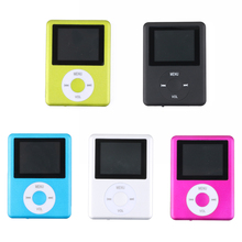 "1.8"" LCD Screen USB Rechargeable Mini MP4 Player Micro SD TF Card Music Player"