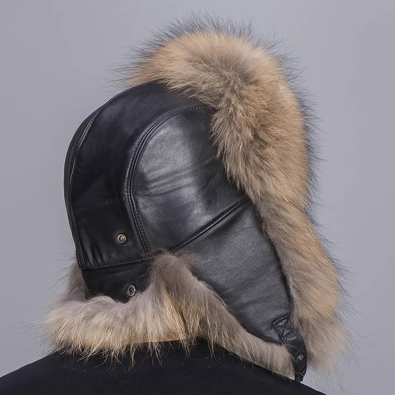 big fur hat raccoon fur 3