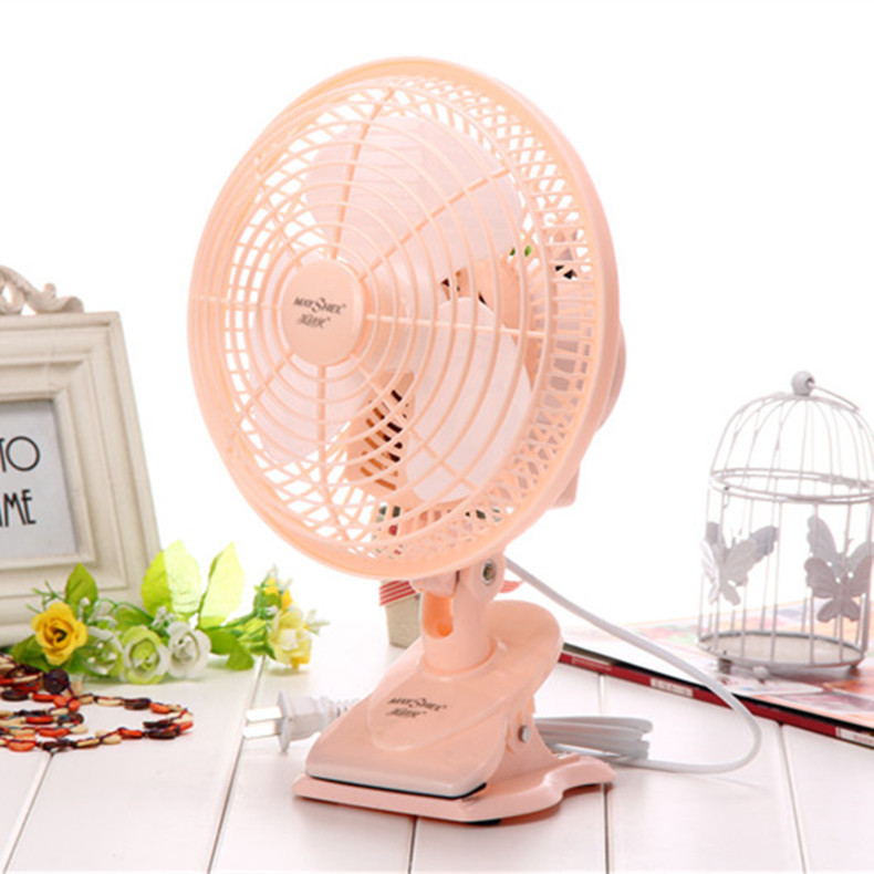 pig lovely 20w Summer selling 90 degree rotary color electric mini student clip swimng fan<br>