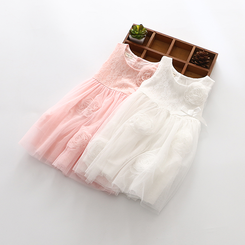 2017 Hot-sale Girl bitter fleabane bitter fleabane Dress Cute Sleeveless Vest Princess Lace Crochet Princess Dress Baby Dresses<br><br>Aliexpress