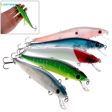 Hard Minnow Fishing Lures Bass Crankbait 4# Hook Tackle Crank Baits 14cm/23g(China)
