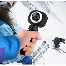 AMK360S Panoramic Professional camera Digital Action Wifi Mini Super wide angle Lens Anti-shake fish-eye lens Sports Driving