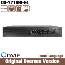 HIKVISION  Ds-7716ni-e4 Cctv Dvr Nvr Hd1080p 4 Sata hik network Video Recorder Original Network Detection Live View No Poe Stock