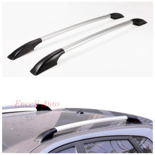 2Pcs/Set Aluminum Alloy Roof Racks Rack Bars Aluminum Roof Boxes Luggage Rack Fit for Hyundai I 30 I30 Verna Ix35(China)