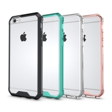 "Slim Hybrid Cover Air Cushion Technology Case With Clear Back Panel Shockproof Bag Shell For Apple iPhone 7 4.7"" / 7 Plus 5.5"""