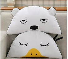 Gift for baby 1pc 58cm cartoon sleepy duck white bear sweet plush hold doll pillow novelty creative stuffed toy