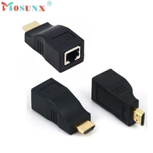 4k*2k 1080P 3D HDMI Over RJ45 Cat 5e Cat 6 Network Lan Ethernet Cable Extender U0302(China)