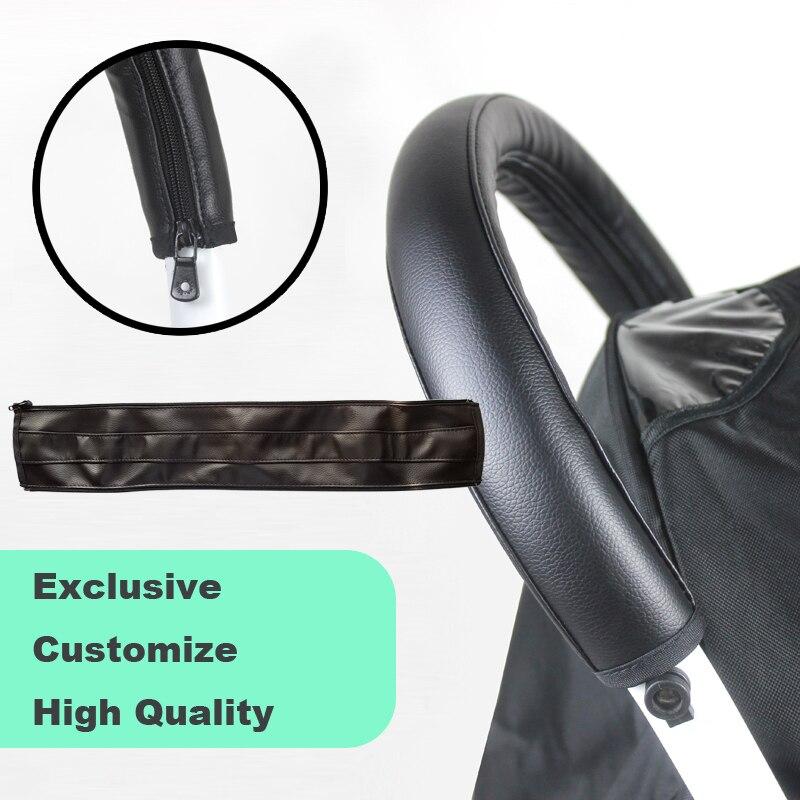 Long Handlebar Oxford Grip Cover For Pushchair Buggy Pram Handle Push Bar