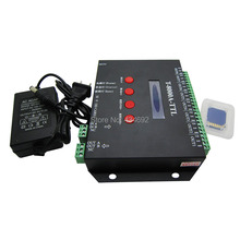 T-8000A-TTL T-8000A SD Card LED Pixel Controller 8 port off-line for WS2801 WS2811 HL1606 DMX512 WS2812 LED 5V