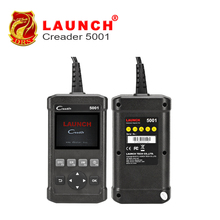 New! 2017Launch CReader 5001 Code Reader Full OBDII/EOBD Diagnostic Functions Scan Tool the same function as Autel AL519 CR5001