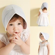 New Summer Newborn Baby Girls Kids Fruit Pattern Cap Cotton Visor Sun Hat