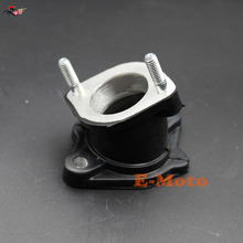 30mm PZ30 ANGLED Carby Intake Manifold Pipe Chinese 2000cc 250CC 300cc Roketa Sunl BMS ATV QUAD Buggy(China)