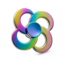 Buy New Rainbow Hand Spinner Metal Cube Colorful Fidget Spinner Focus ADHD Anti Spinners Finger Relieve Stress Toys Adults Children for $5.88 in AliExpress store