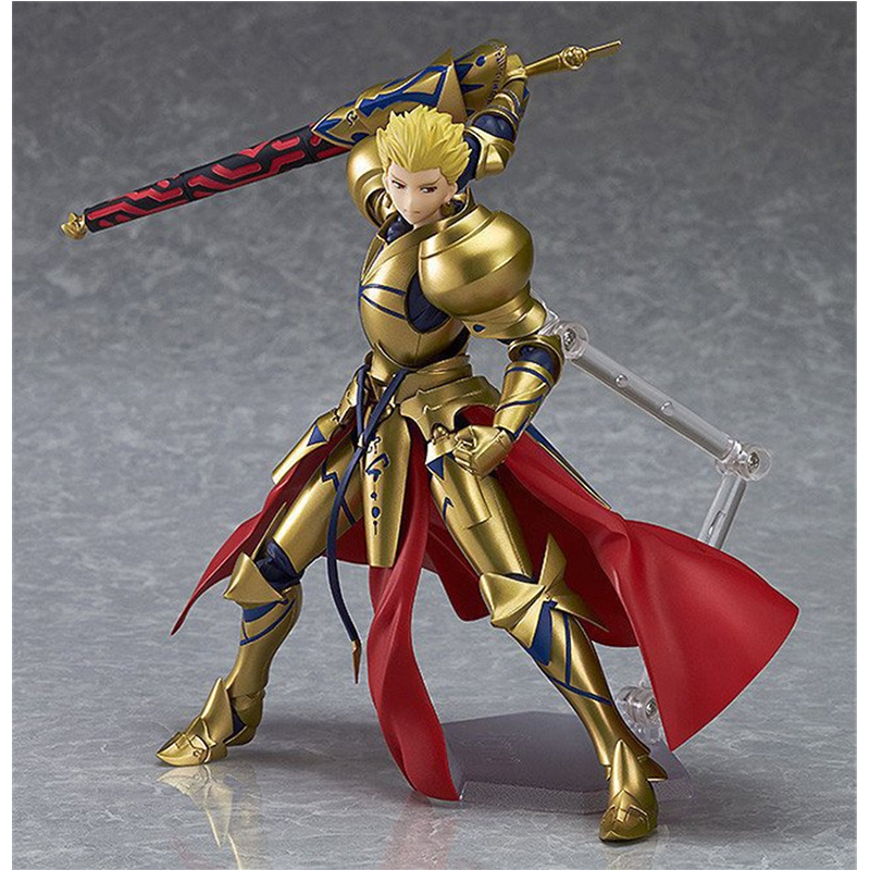 Japan Anime Gilgamesh Man wearing golden armor Action Figure 15CM PVC Finished Goods Model Toy Collection Figure Toys SS0069<br>