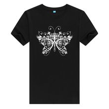 2017 Time-limited O-neck Blusa Unicorn New Fashion butterfly T Shirt Women's High Quality Printing Tops Hipster Tees A085
