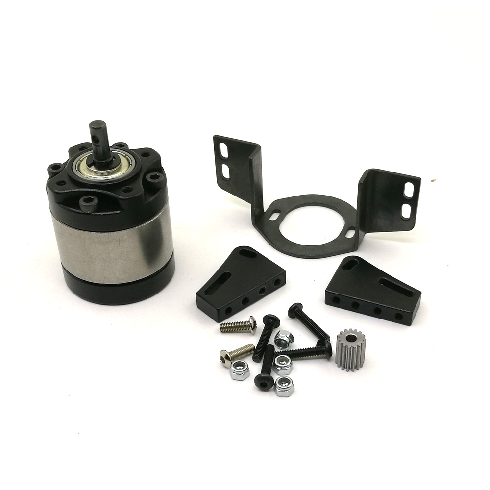 AXSPEED D90 Gearbox Aluminum Center 1:10 Car D90 Gearbox 1:5  Rock Crawler Upgrade Parts RC Car Transmission Case <br>