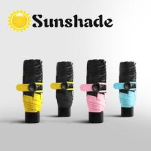 Quality Mini Pocket Umbrella Women Sunny and Rainy Mini Fashion Folding Umbrellas small sun Parasol Umbrella rain Unisex L30