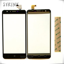 Syrinx 5.5 inch With Tape Touch Screen Digitizer Panel For DOOGEE Y6 Mobile Phone Front Glass For DOOGEE Y6 Touchscreen Sensor(China)