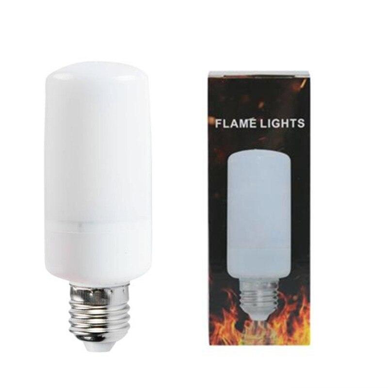 New light led bulb E27 E14 SMD2835 AC110V-220V LED flame lamp Flame Light Effect Fire Corn BulbFlickering Emulation Night Light 20