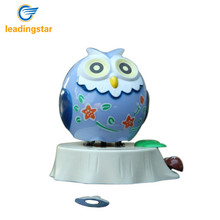 LeadingStar Car Solar Energy Powered Owl Nodding Toy Home Decoration Articles zk15(China)